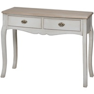 The Louis Collection Two Drawer Console Dressing Table