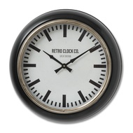 Deep Rim Retro Clock