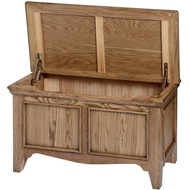 The Dorchester Oak Collection Blanket Box