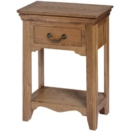 The Dorchester Oak Collection One Drawer Hall Table