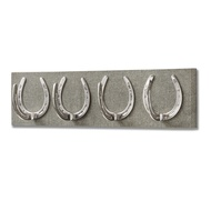 Heath Yorkshire Tweed with Four Horse Shoe Coat Hooks