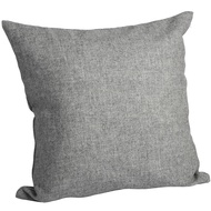 Grey Herringbone Yorkshire Tweed  Cushion Cover