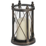 Nautical Antique Bronze Candle Holder