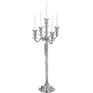Extra Large Nickel Candelabra