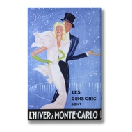 Chic People Post Card Canvas