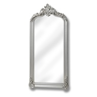 Full length Brushed Silver Carved Mirror