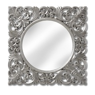 Baroque Silver Wall Mirror