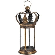 Anitique Gold Crown Lantern