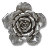Antique Silver Wall  Hanging Flower