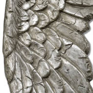 Antique Silver Angel Wings - Thumb 2