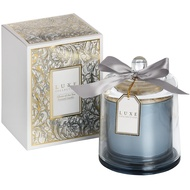 Allure Of The Sea Large CandleWith Cloche By Luxe Collection