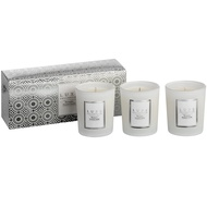 Serenity Set of Three Candles By Luxe Collection