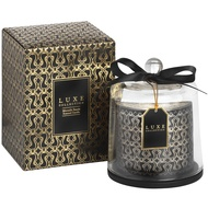 Moonlit Sands Large Candle With Cloche By Luxe Collection