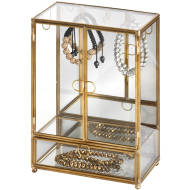 Antique Gold Jewellery Display Box