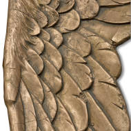 Gold Large Angel Wings - Thumb 2