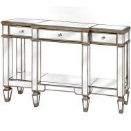 The Belfry Collection Mirrored Display Console
