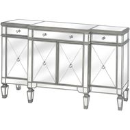 The Silver Belfry Collection Mirrored Sideboard