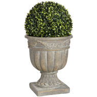 Antique Grey Decorative Urn