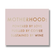 Motherhood Metalic Detail Plaque