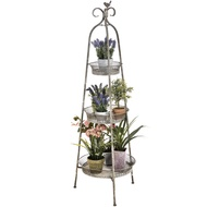 French Distressed Foldable Shelving Unit