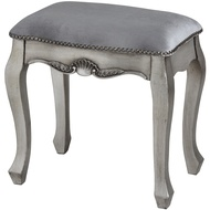 Estelle Collection Silver Leaf  Dressing Table Stool