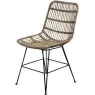 The Bali Collection Full Rattan Dining Chair