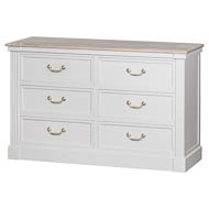The Liberty Collection Six Drawer Chest
