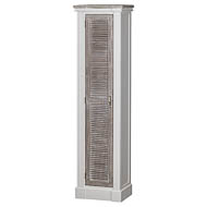 The Liberty Collection Tall Cabinet With Louvered Doors