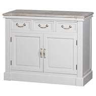 The Liberty Collection Three Drawer Two Door Cupboard