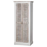 The Liberty Collection Shoe Cupboard With Louvered Door