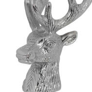 Nickel Stag Head Bottle Stopper - Thumb 2