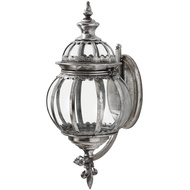 The Lumiere Collection Antique Silver Wall Hanging Candle ho
