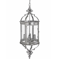 The Lumiere Collection Antique Silver Chandelier