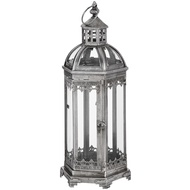 The Lumiere Collection Antique Silver Lantern