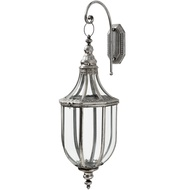 Antique Hanging Lantern In Antique Silver