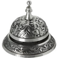 Desk Bell Antique Silver