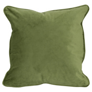 Light Green Velvet Cushion 45X45Cm