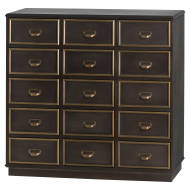 The Hudson Collection 15 Drawer Merchant Chest