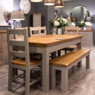 The Byland Collection Dining Bench - Thumb 3