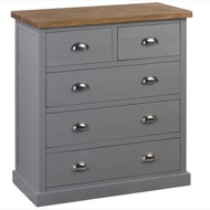 The Byland Collection Two Over Three Chest Of Drawers