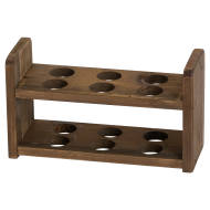 Rustic Wooden Dozen Egg Holder