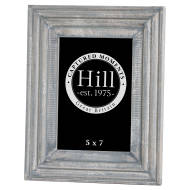 Grey Painted 5x7 Detailed Photo Frame