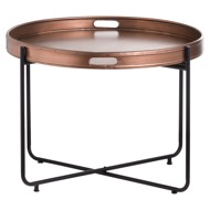Copper Tray With Stand