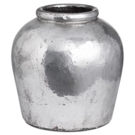 Metallic Ceramic Vase