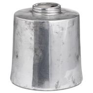 Metallic Ceramic Large Cylindrical Ceramic Vase