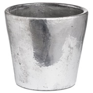 Metallic Large Ceramic Planter