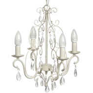 Four  Lamp  Chandelier