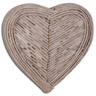 Small Heart Wicker Wall Art
