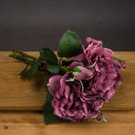 Dusty Pink Short Stem Rose Bouquet