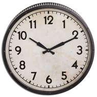 Grey Drummer Clock
